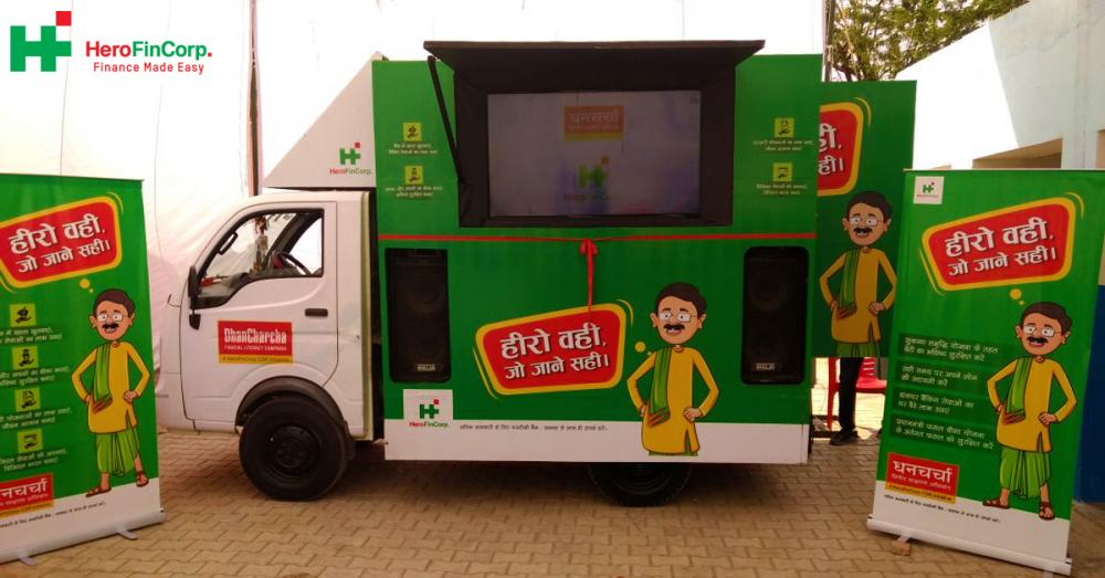 Dhan Charcha, Hero Fincorp's Maiden Csr Campaign On Financial Literacy